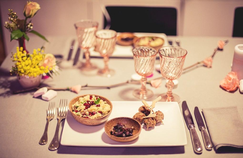 dîner aux chandelles - Pépites d'amour