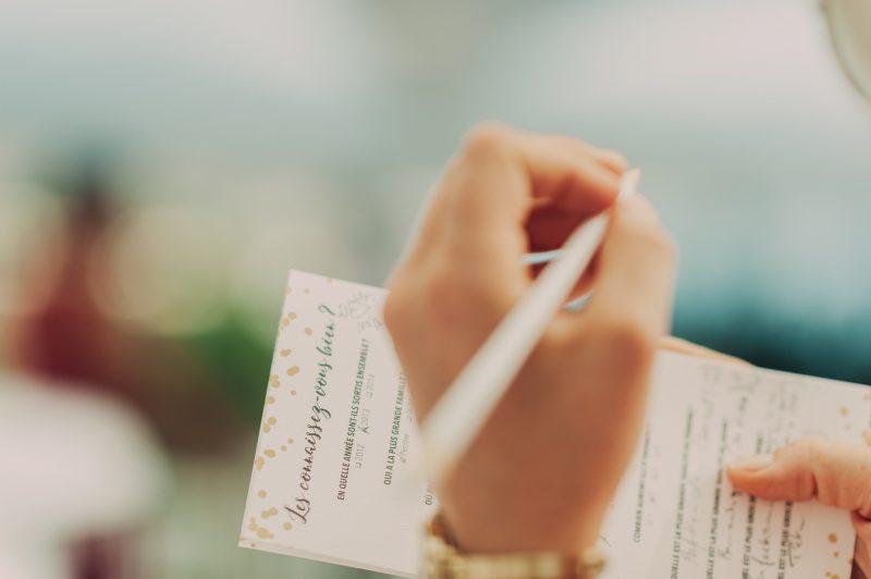 carnet de cérémonie-Pépites d'amour