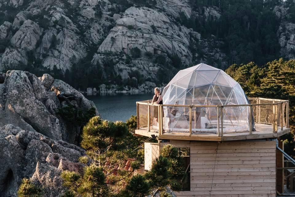 Glamping Corsica Cocoon Village - Pépites d'amour